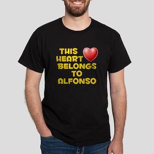 This Heart: Alfonso (D) Dark T-Shirt
