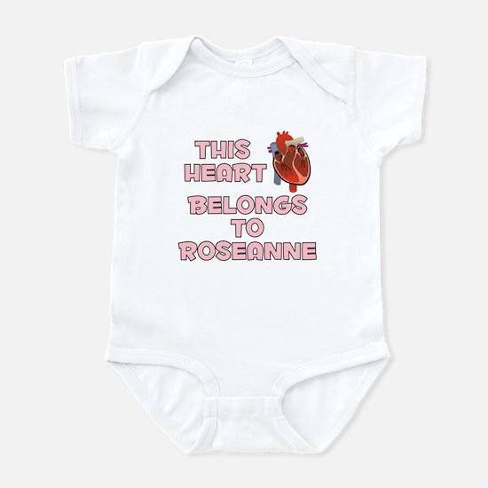 This Heart: Roseanne (C) Infant Bodysuit
