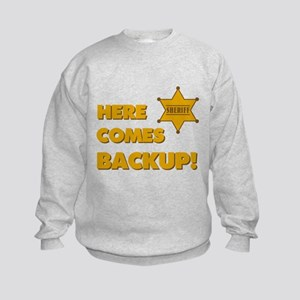 Deputy Backup Kids Sweatshirt