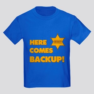 Deputy Backup Kids Dark T-Shirt