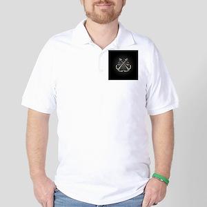 Shiny Anchors Golf Shirt