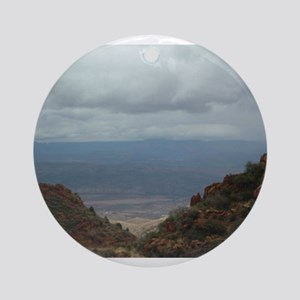 Eastern View from Mingus Moun Ornament (Round)
