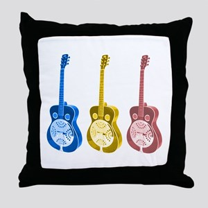 Resonator  - 'The' Blues Guit Throw Pillow