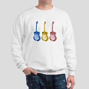 Resonator  - 'The' Blues Guit Sweatshirt