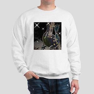 Semi Glow Guitar Sweatshirt