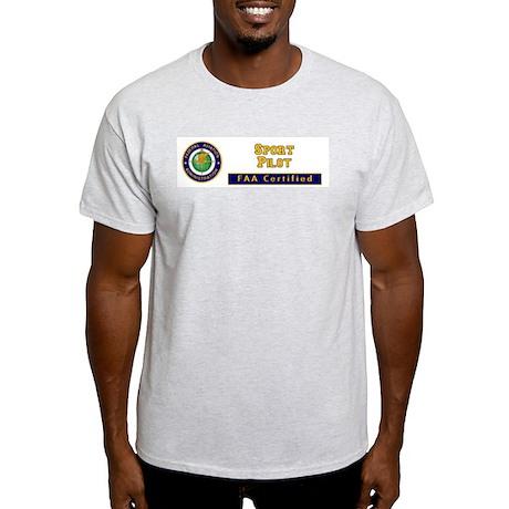 FAA Certified Sport Pilot Light T-Shirt