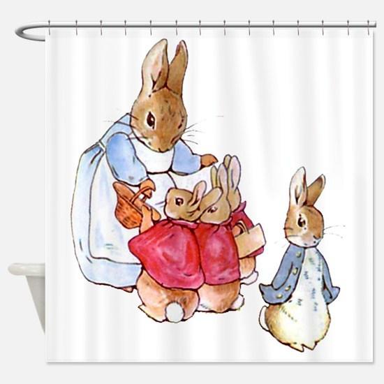 Cute Babies Shower Curtain