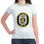 USS HOPPER Jr. Ringer T-Shirt