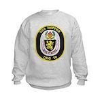 USS HOPPER Kids Sweatshirt