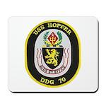 USS HOPPER Mousepad