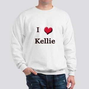 I Love (Heart) Kellie Sweatshirt