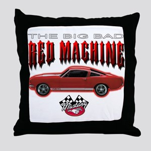 The Big Bad Red Machine Throw Pillow