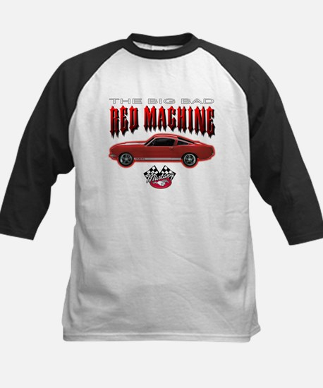The Big Bad Red Machine Kids Baseball Jersey