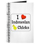 I Love Indonesian Chicks Journal
