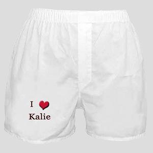 I Love (Heart) Kalie Boxer Shorts