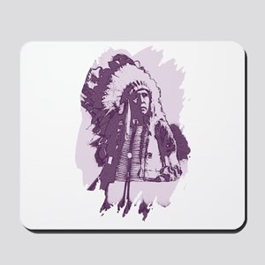 Indian Chief Mousepad