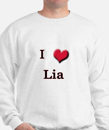 I Love (Heart) Lia Jumper