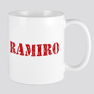 Ramiro Rustic Stencil Design Mugs