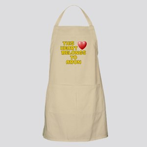 This Heart: Aron (D) BBQ Apron