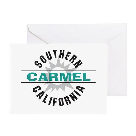 Carmel California Greeting Card