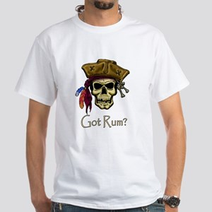 Got Rum? White T-Shirt