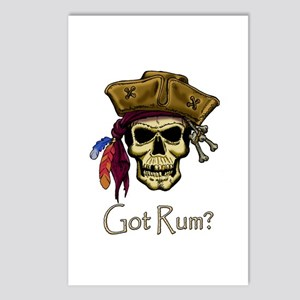 Got Rum? Postcards (Package of 8)