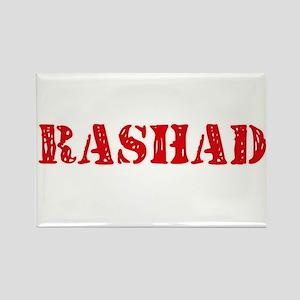 Rashad Rustic Stencil Design Magnets
