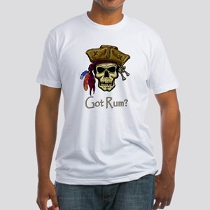 Got Rum? Fitted T-Shirt