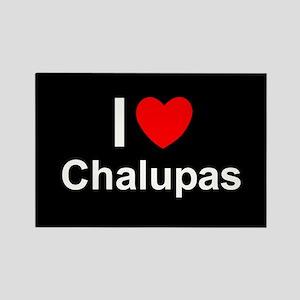 Chalupas Rectangle Magnet