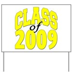 Class of 2009 ver3 Yard Sign