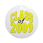 Class of 2009 ver3 Ornament (Round)