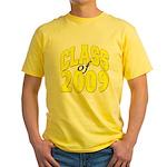Class of 2009 ver3 Yellow T-Shirt