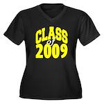 Class of 2009 ver3 Women's Plus Size V-Neck Dark