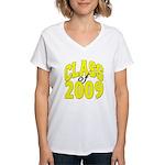 Class of 2009 ver3 Women's V-Neck T-Shirt