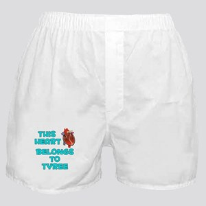 This Heart: Tyree (B) Boxer Shorts