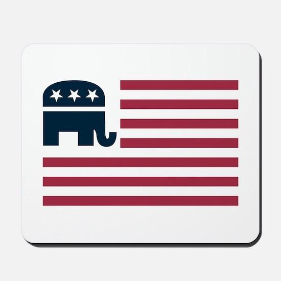 GOP Flag Mousepad