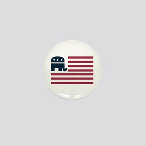 GOP Flag Mini Button