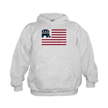 GOP Flag Kids Hoodie
