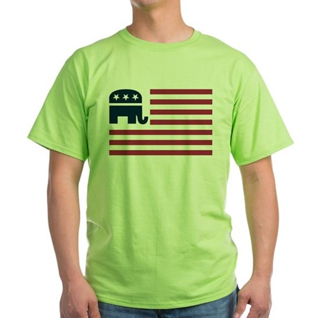 GOP Flag Green T-Shirt