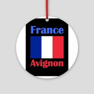 Avignon France Round Ornament