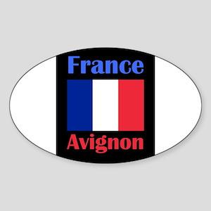 Avignon France Sticker