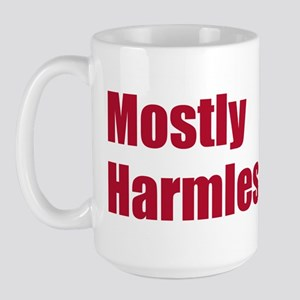 Hitchhiker - Mostly Harmless - Large Mug