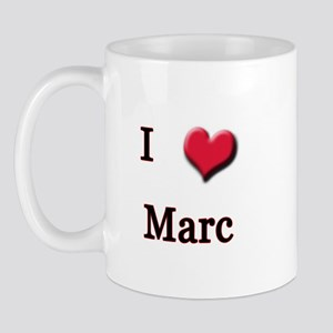 I Love (Heart) Marc Mug