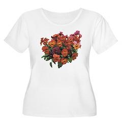 Red Pansies T-Shirt