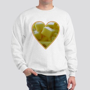 Valentine Cheese Heart Sweatshirt
