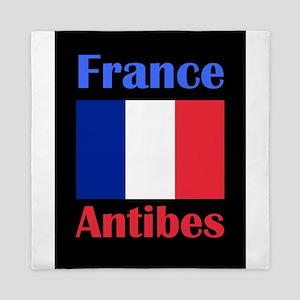 Antibes France Queen Duvet