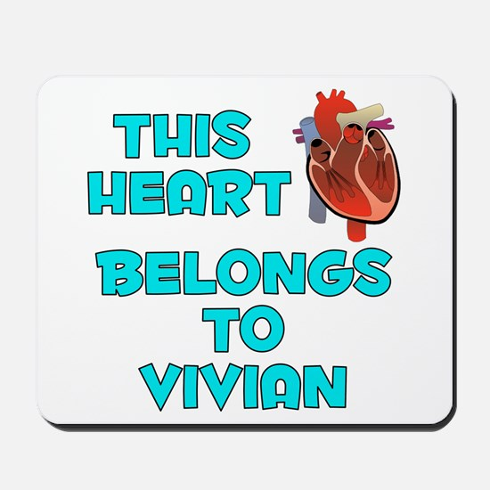 This Heart: Vivian (B) Mousepad