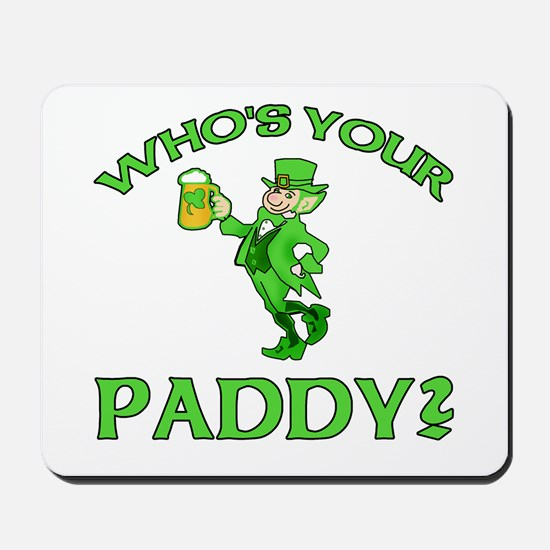 Leprechaun Who's Your Paddy Mousepad