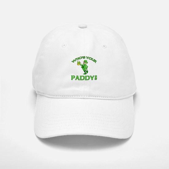 Leprechaun Who's Your Paddy Baseball Baseball Cap