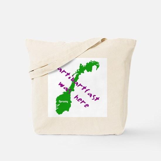 Slartibartfast was here - Tote Bag